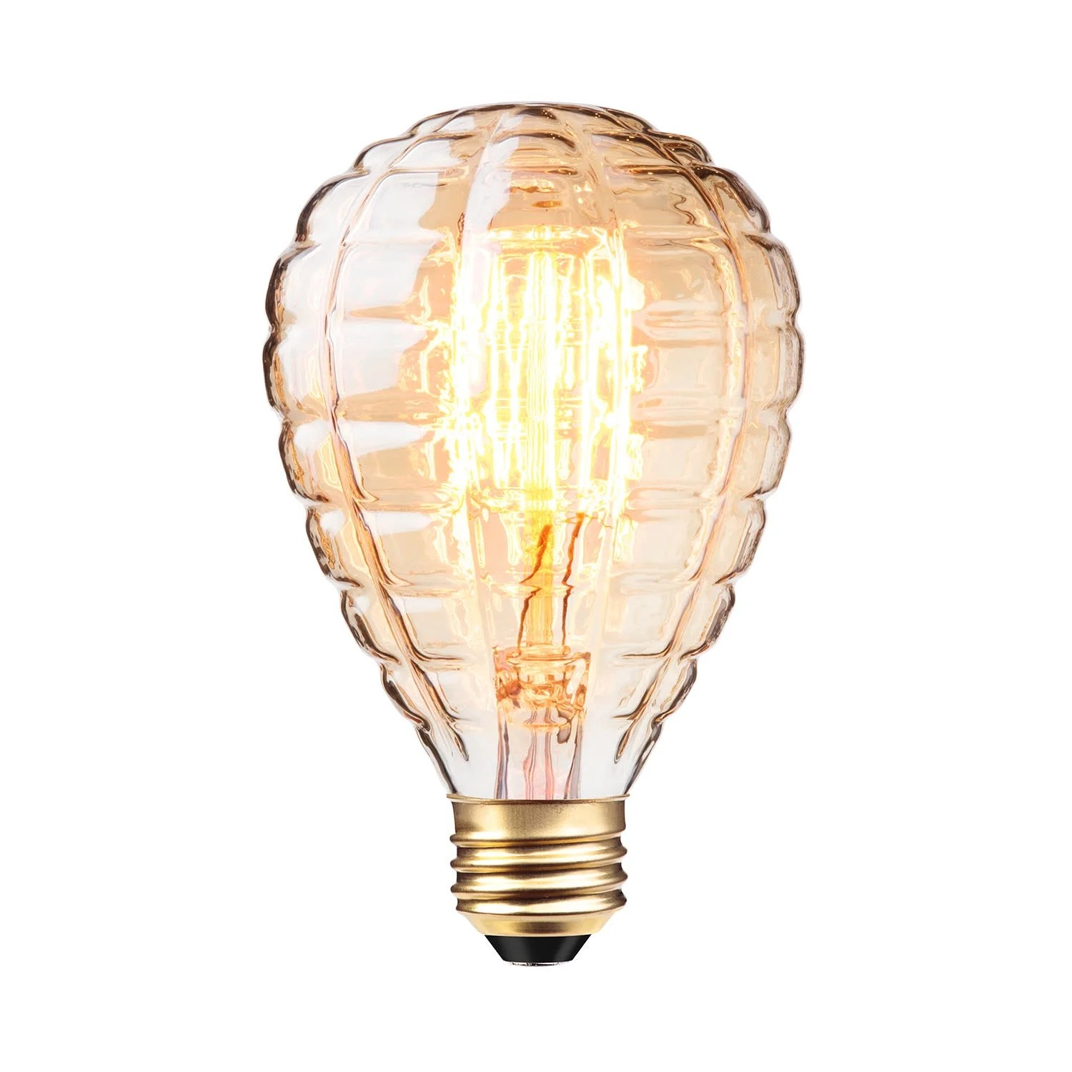 40 Watt In Lumen Globe Electric 84635 Single Granada 40 Watt G25 Medium E26 140 Lumen Vintage Incandescent Bulb Amber N A