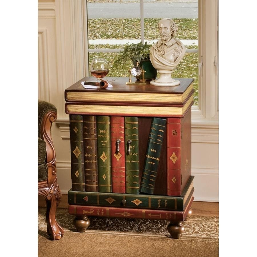Wooden Side Table Designs Design Toscano The Lord Byron Wooden Side Table