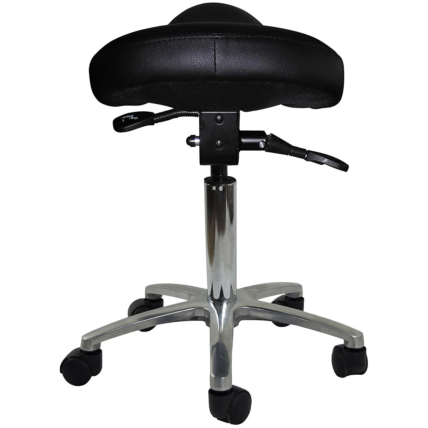 Saddle Office Chair 2xhome Adjustable Saddle Stool Backless Chair With Forward Tilting Seat Great For Home Office Exam Waiting Rooms More