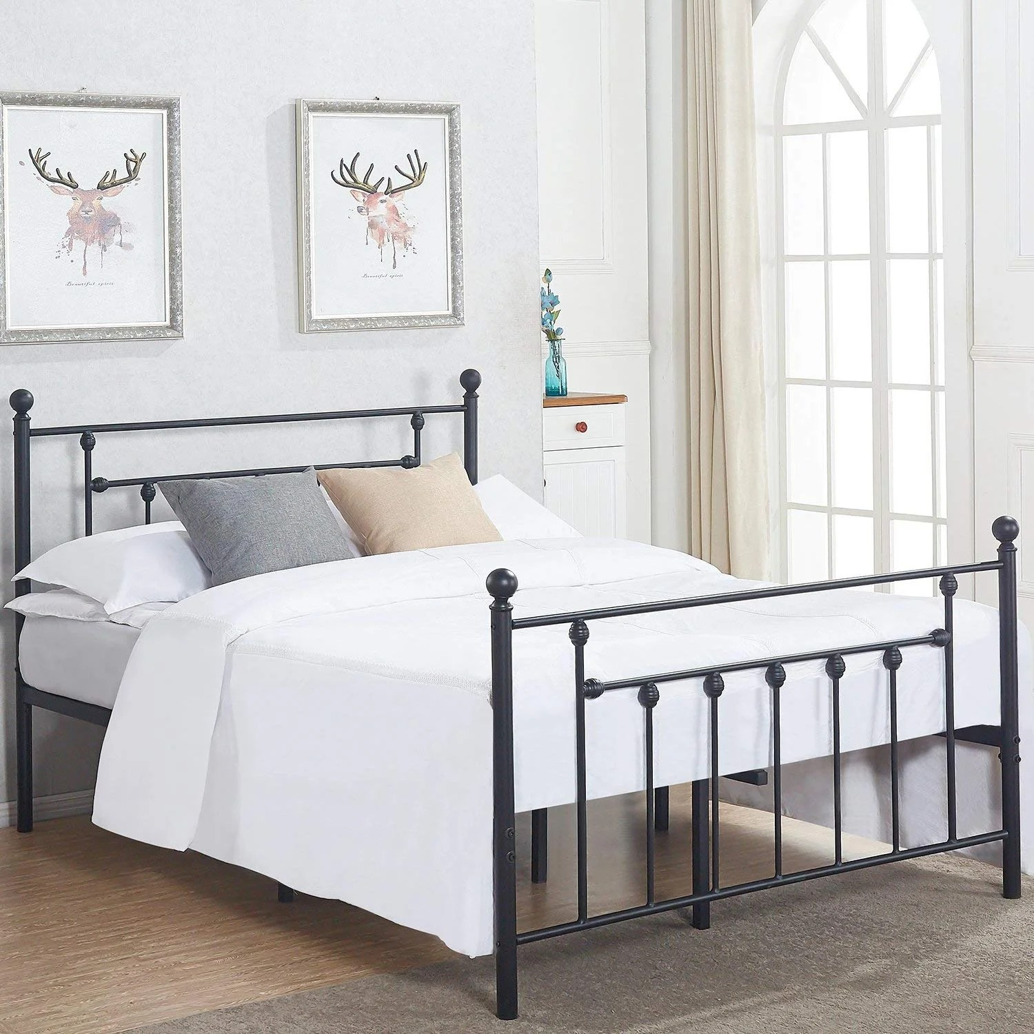 Metal Bed Headboards Vecelo Metal Beds Victorian Metal Platform Beds Bed Frames With Headboard Victorian Style