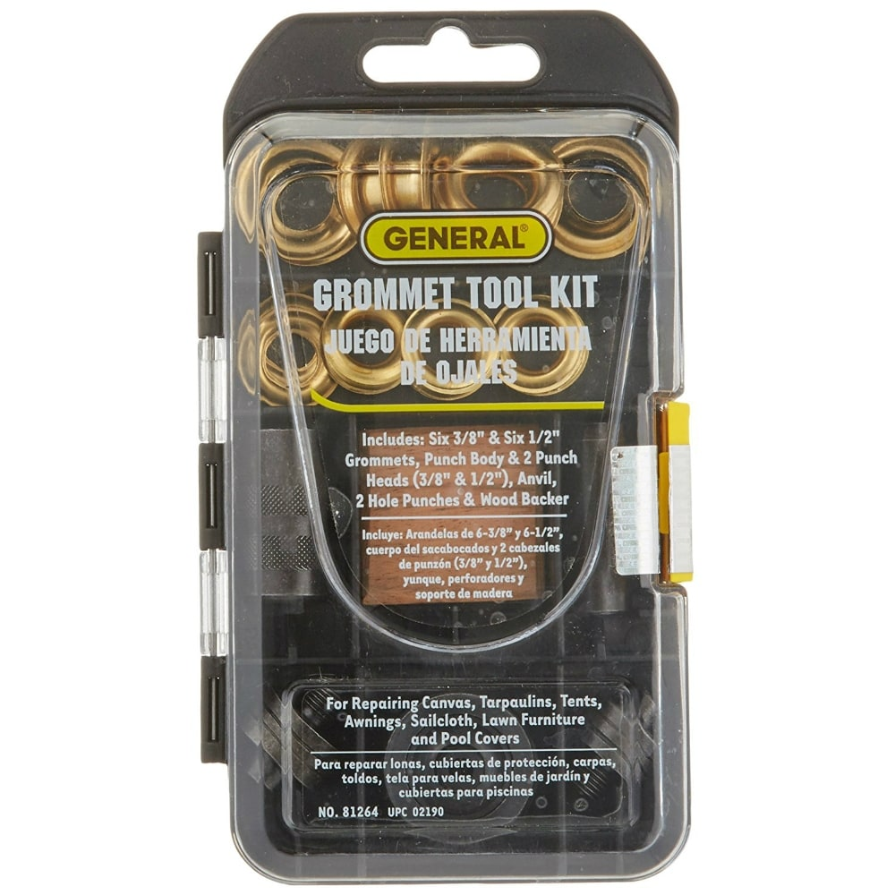 1 2 Grommet General Tools 81264 Multi Size Grommet Kit With 1 2