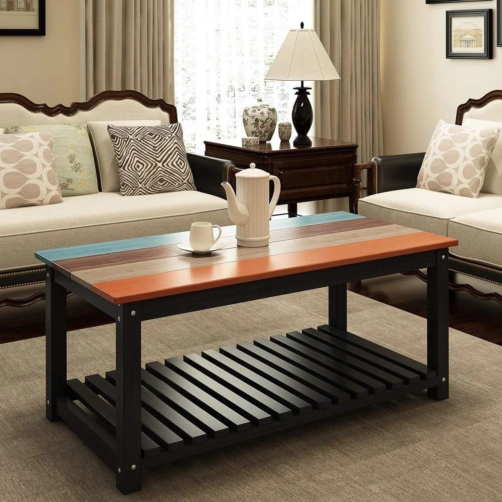 Center Table Ideas For Living Room Solid Wood Coffee Table 48