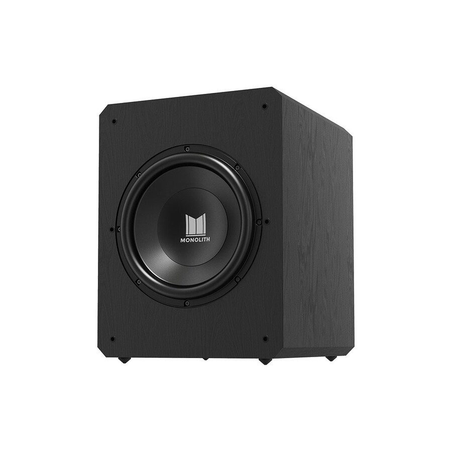500 Watt Monoprice Monolith M12 S Sealed Powered Subwoofer 12 Inch 500 Watt Thx Certified