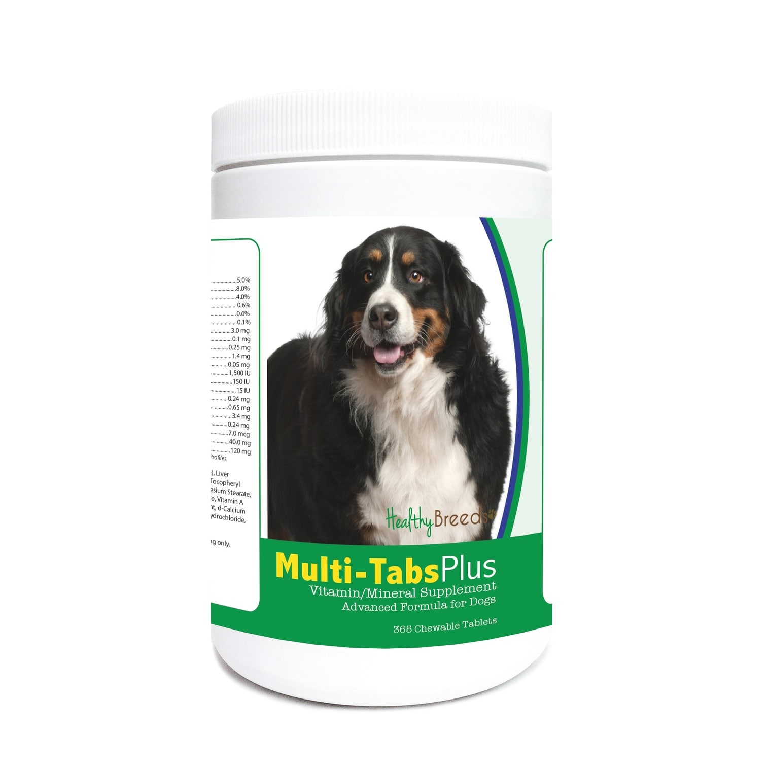 Multitabs Für Pool Healthy Breeds Bernese Mountain Dog Multi Tabs Daily Chews