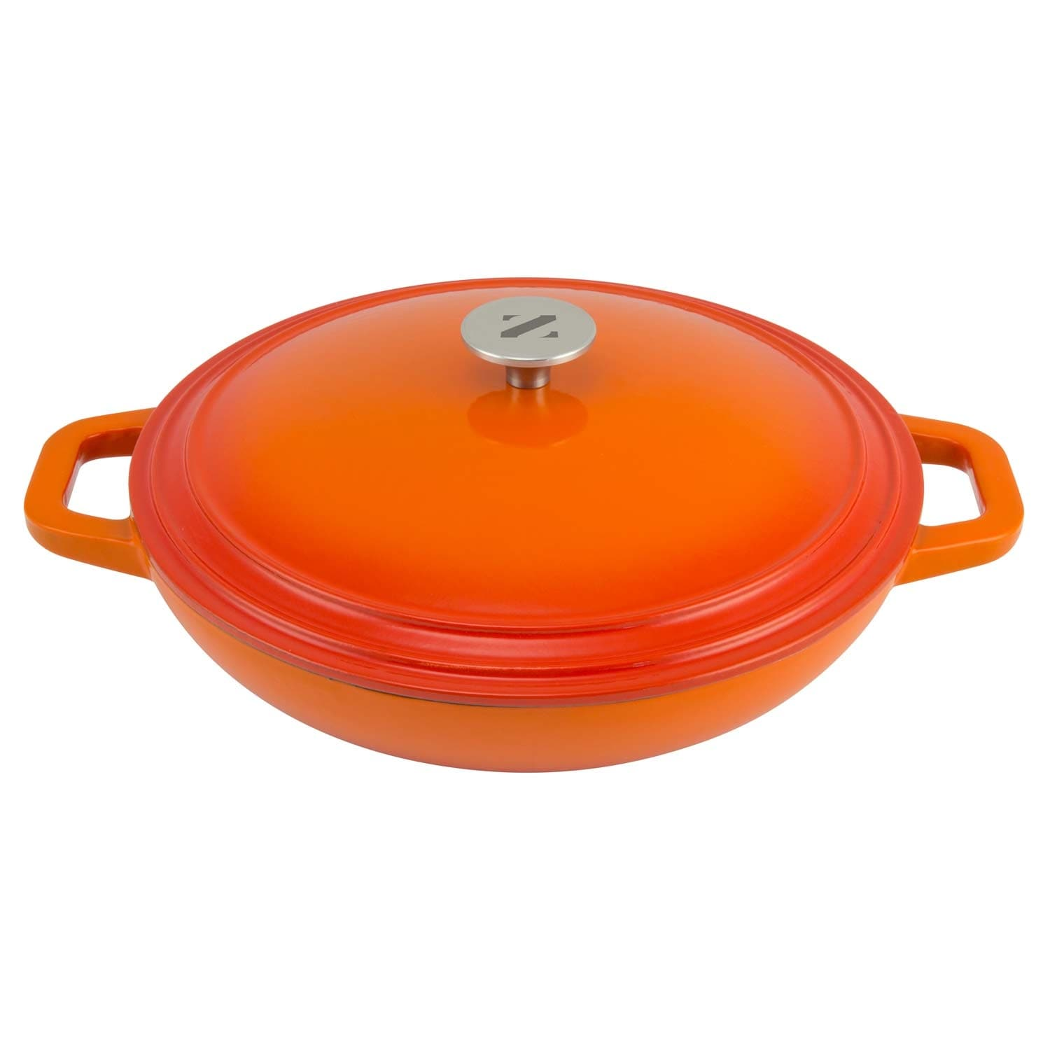 Cast Iron Casserole Dish Zelancio Cookware 3 Quart Enameled Cast Iron Casserole Dish With Lid Perfect For Brazing Slow Cooking Simmering And Baking