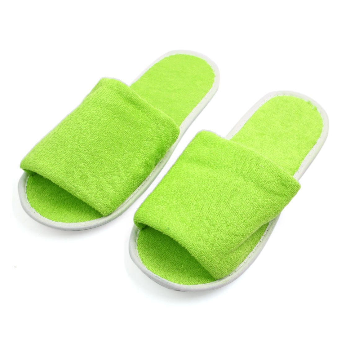 Baby Hotel Slippers 1 Pair Green Foldable Disposable Slipper Hotel Spa Guest Slippers For Women