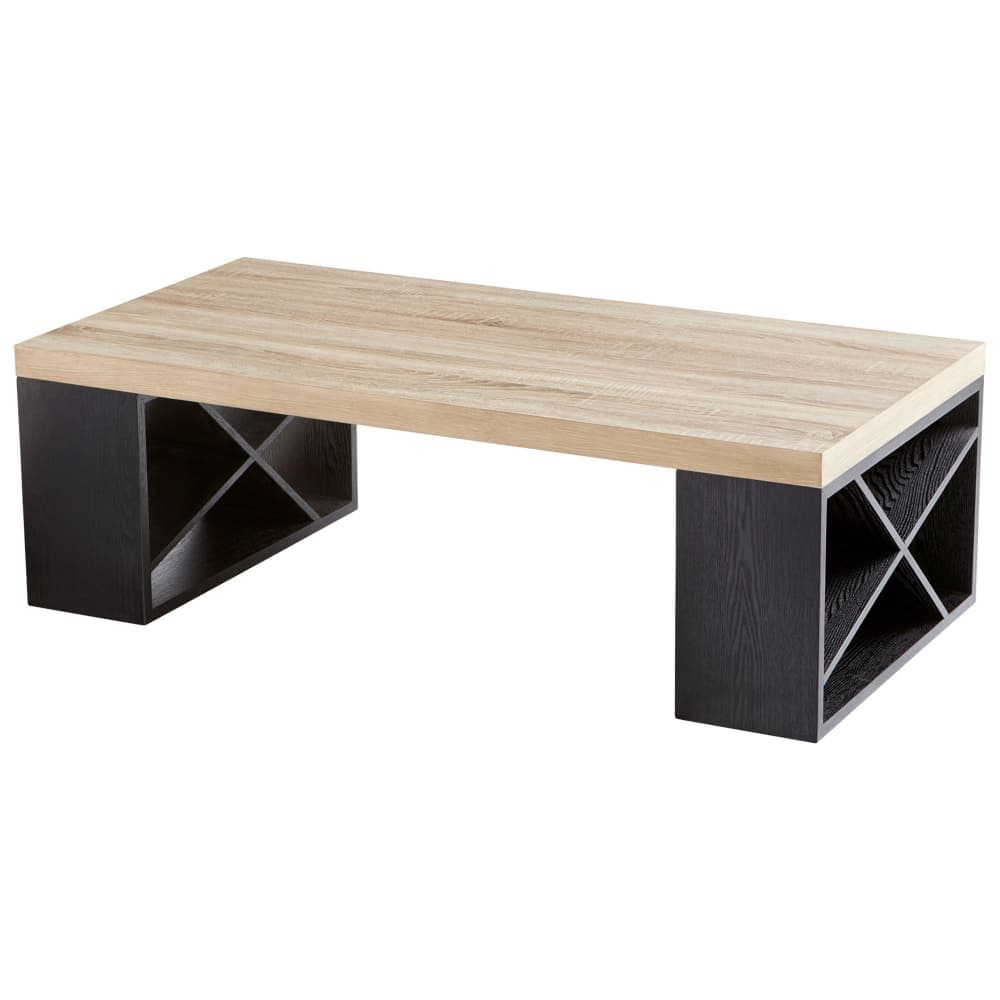 Long Wood Desk Cyan Design 09891 Lemland 47 1 4