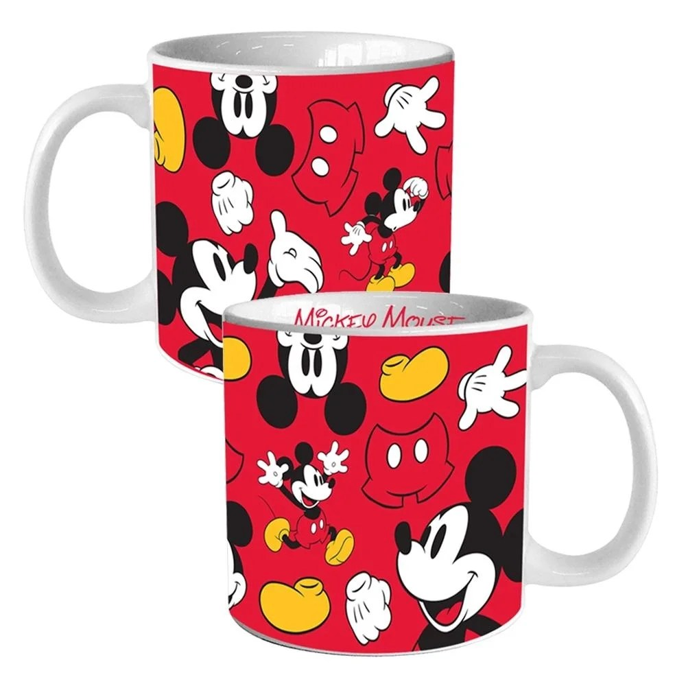 Disney Mickey Disney Mickey Mouse 20 Oz Heat Reactive Ceramic Mug