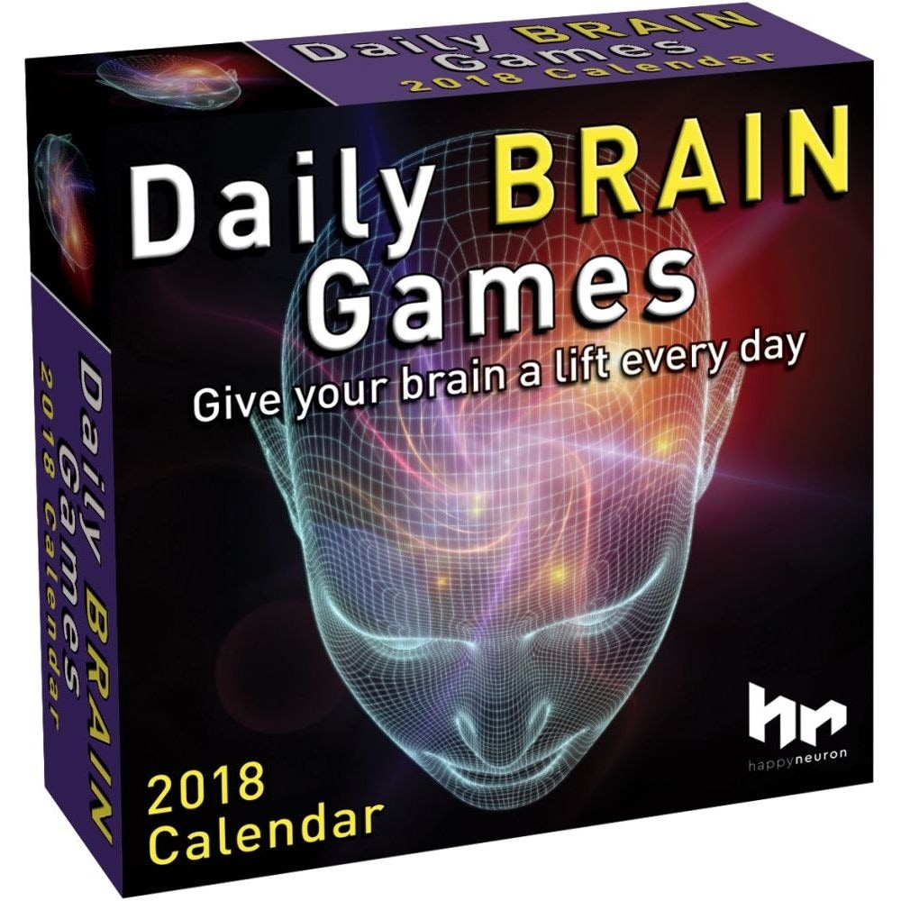 Brains Games 2018 Brain Games Desk Calendar