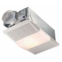 NuTone 70 CFM Ceiling Exhaust Fan with Light and 1300-Watt ...