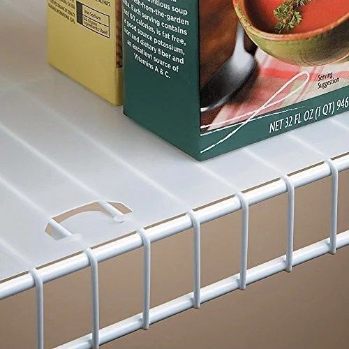Shop Clear Plastic 16 Inch X 10 Foot Roll Shelf Liner For