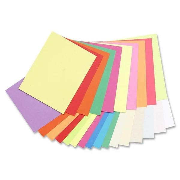 Shop Pacon Array 65lb Printable Assorted Colors Cardstock - 1 Pack