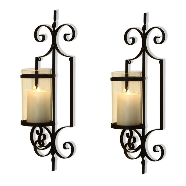 Kerzenhalter Für Wand Shop Adeco Cast Iron Vertical Wall Hanging Accents Candle