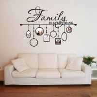 Shop Family Picture Frame Deco Vinyl Wall Art - On Sale ...