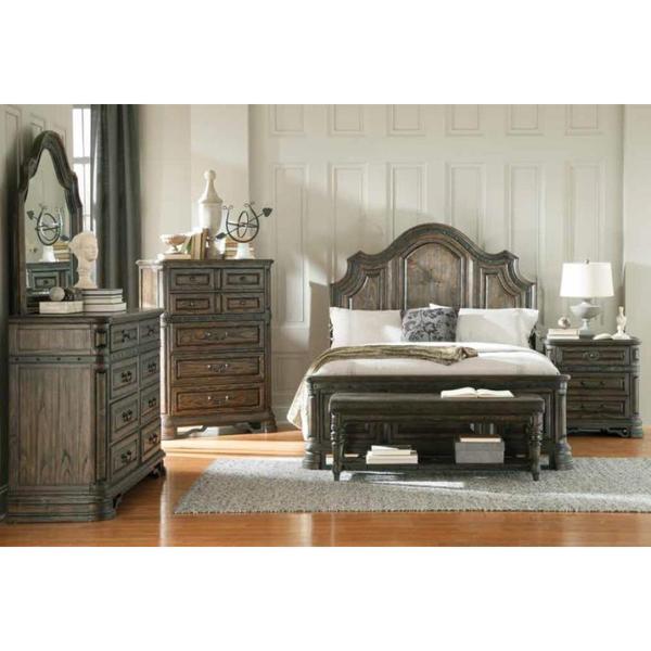 Shop Armada 7-piece Dark Brown Bedroom Furniture Set - Free Shipping
