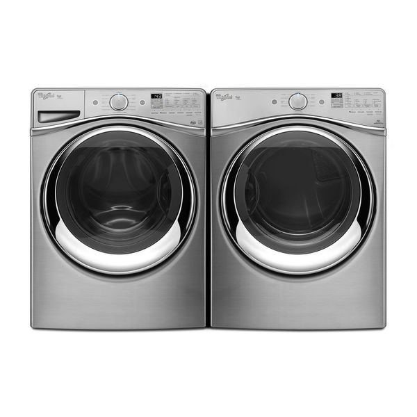 Whirlpool Duet Steam Front Load Washer And Gas Dryer Pair - Whirlpool Steam Dryer