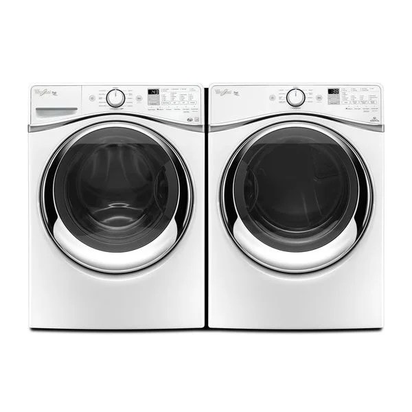 Shop Whirlpool Duet Steam Front Load Washer And Gas Dryer - Whirlpool Steam Dryer