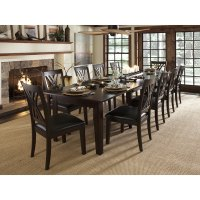 Shop Asha 13-Piece Solid Wood Dining Set - Free Shipping ...