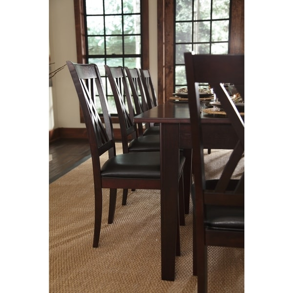 Asha 9piece Solid Wood Dining Set Free Shipping Today Solid Wood Dining