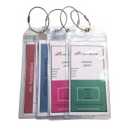 Russotti Design Cruise Luggage Tag Holders (Set of 4