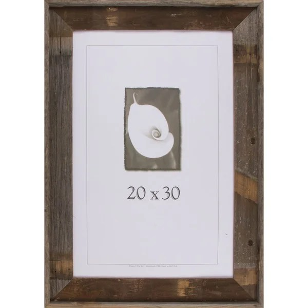Shop Barnwood Signature Series Picture Frame 20 X 30 - Rahmen 20x30