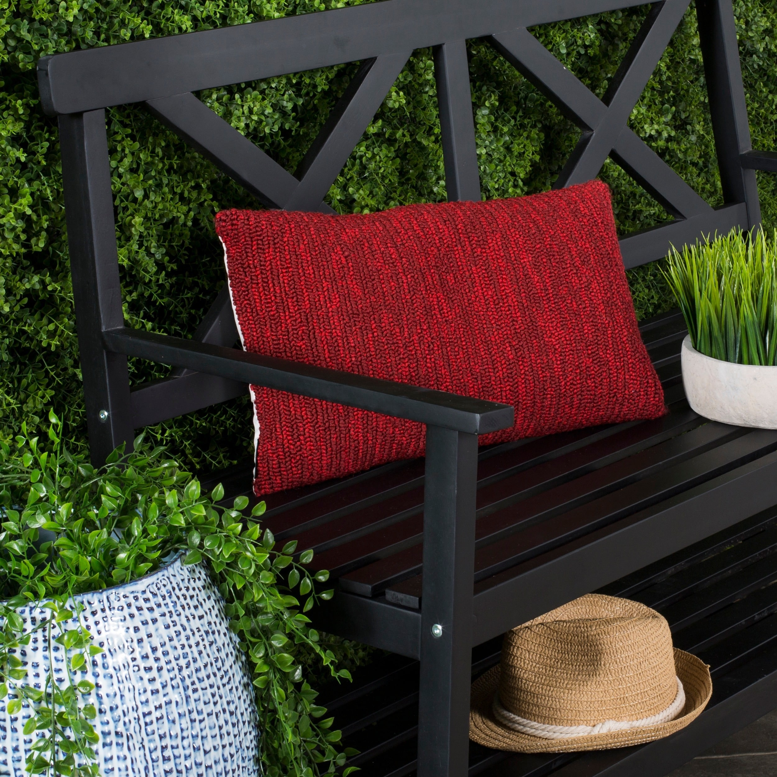 Outdoor Furniture Ringwood Red Decorative Accessories Sale Ends In 2 Days Find Great Home