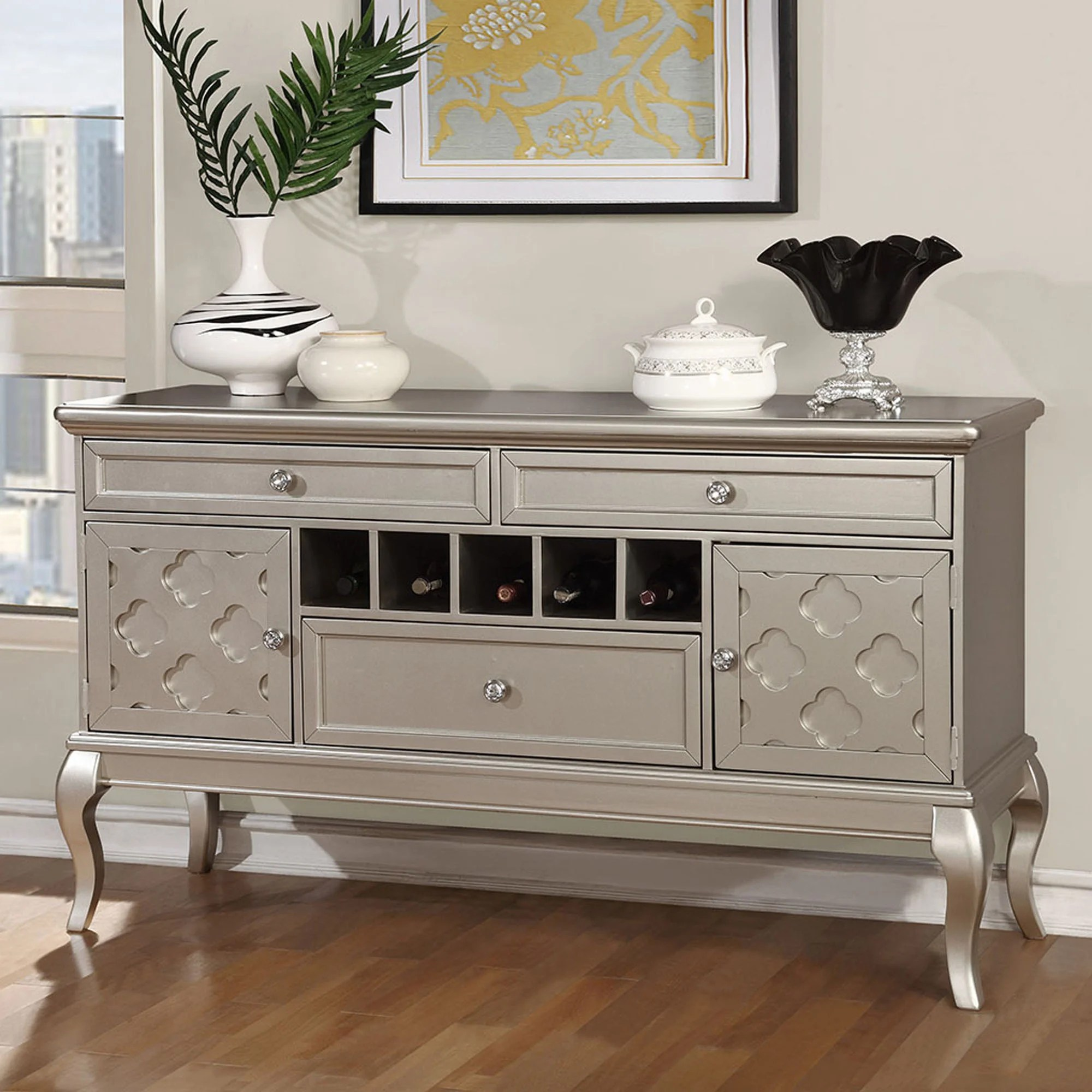 Designer Sideboards Buy Glam Buffets Sideboards China Cabinets Online At Overstock