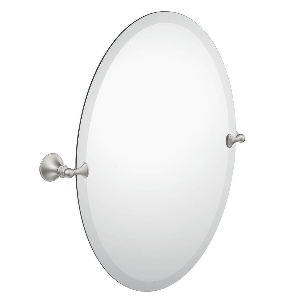 Decorative Brushed Nickel Mirror Moen Glenshire Brushed Nickel Mirror Dn2692bn
