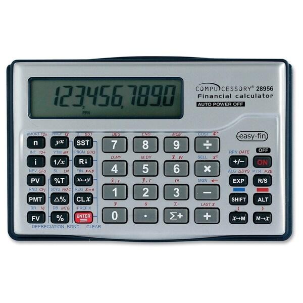 Compucessory Financial Calculator - Free Shipping On Orders Over $45 - financial calculator