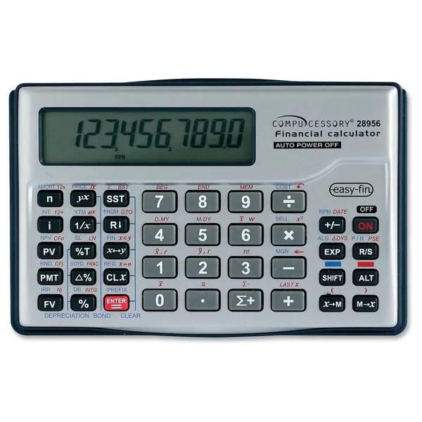 Shop Compucessory Financial Calculator - Free Shipping On Orders - financial calculator