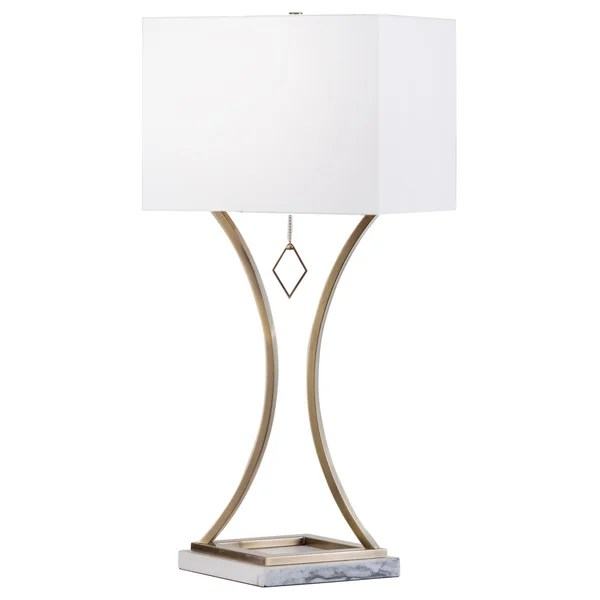 Jubilee Table Lamp Weathered Brass