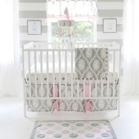 Shop My Baby Sam Olivia Rose 3-piece Crib Bedding Set ...