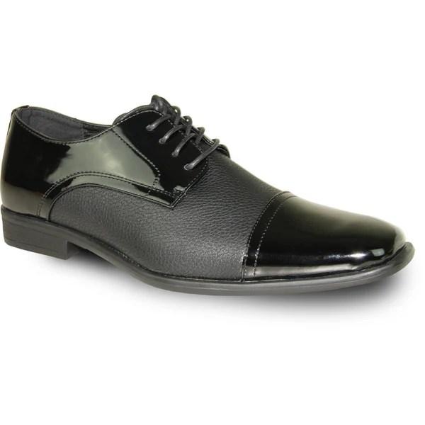 Shop Bravo Men Dress Shoe New Kelly 2 Oxford Black Patent