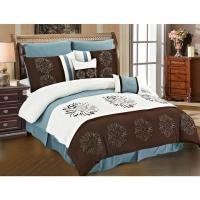 Sunflower 8-piece Comforter Set - 18412557 - Overstock.com ...