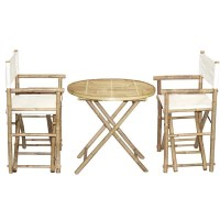 Shop Handmade Bamboo54 Bamboo Bistro Director's Chairs and ...