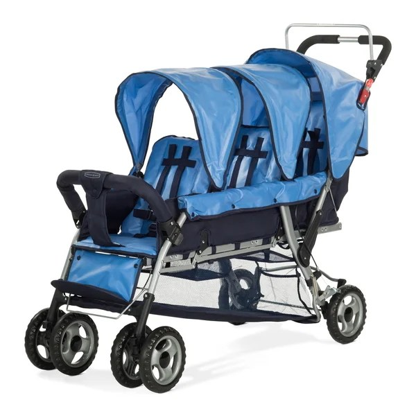 Double Jogging Stroller Clearance Child Craft Sport Trio 3 Child Stroller 18584340