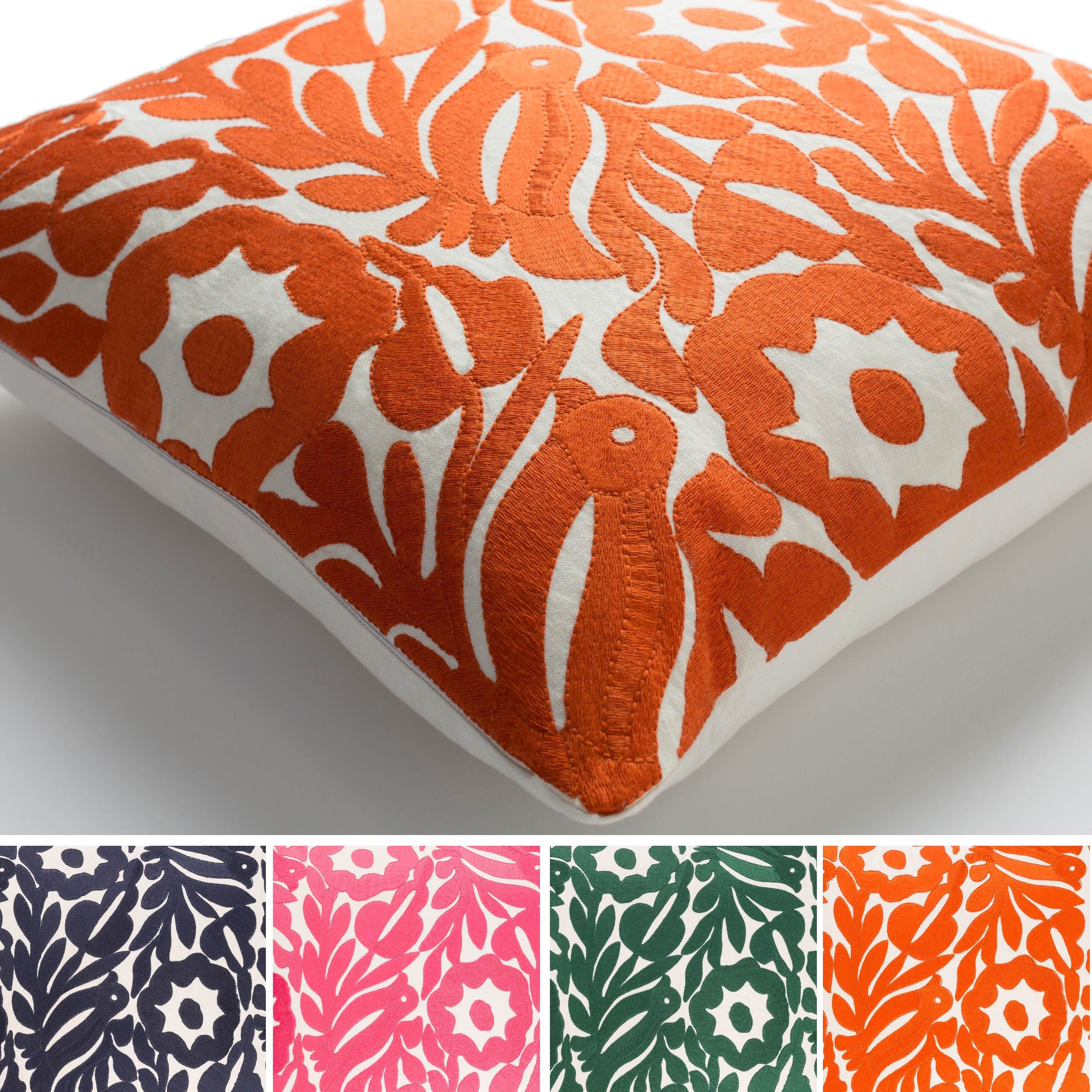 Boutique Orange Sarreguemines Buy Jacquard Throw Pillows Online At Overstock Our Best