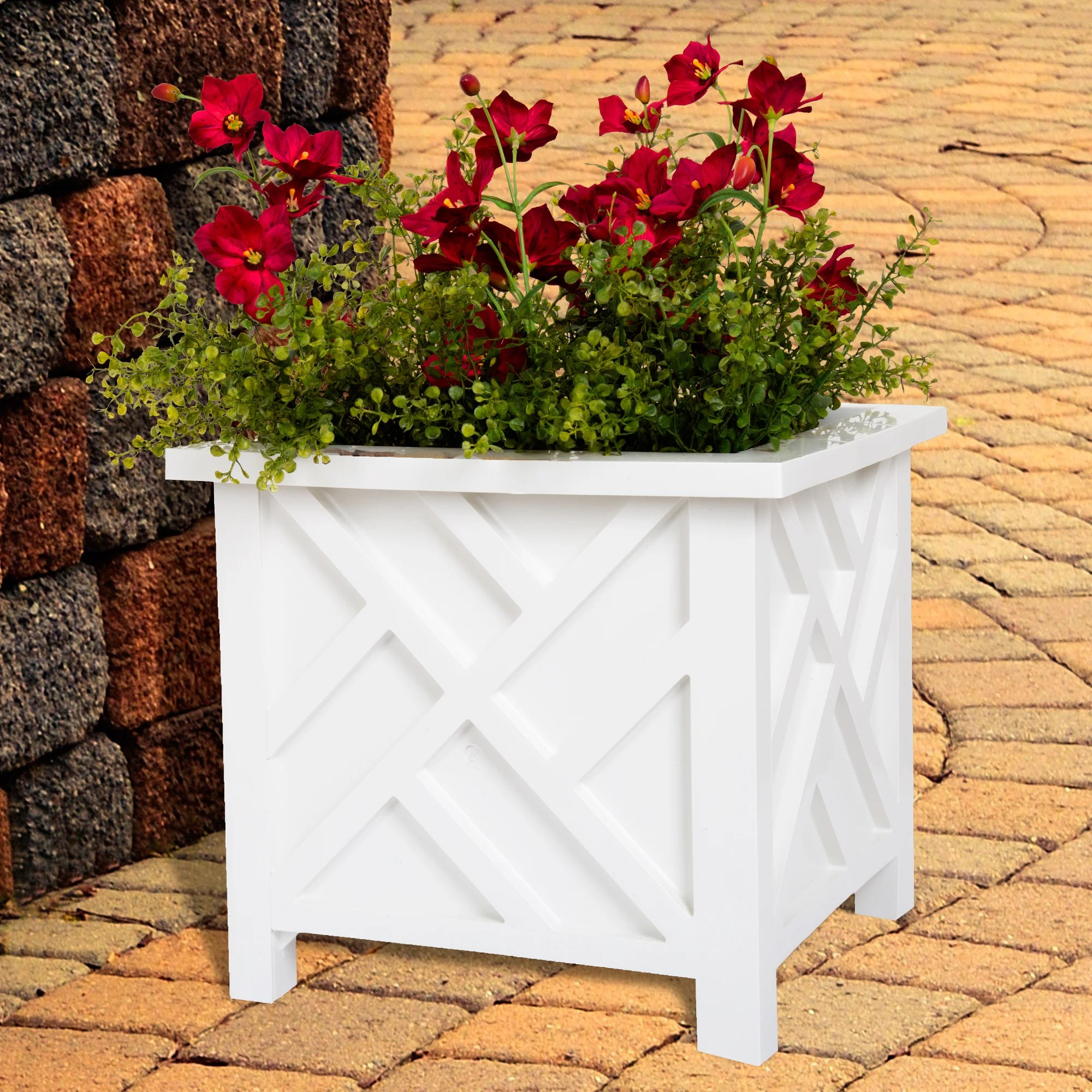 Outdoor Planters Near Me Buy Planters Plant Stands Online At Overstock Our Best Outdoor