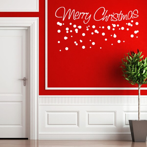 style apply merry christmas wall decal shipping orders apply wall decal stickers wall art step step diy