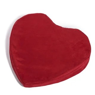 Hermell Heart Shaped Large Pleasure Wedge Pillow Free