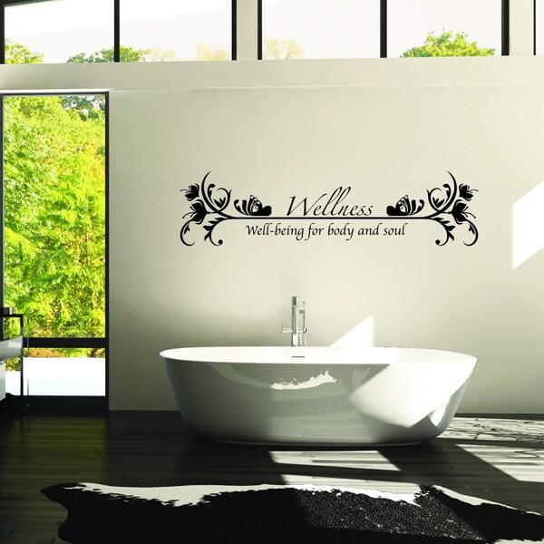 style apply wellness multicolor vinyl wall decal apply wall decal stickers wall art step step diy