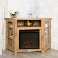 Overstock Corner Electric Fireplace - Electric Fireplace Heat