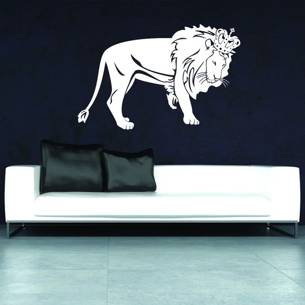 style apply lion king vinyl art wall decor overstock apply wall decal stickers wall art step step diy