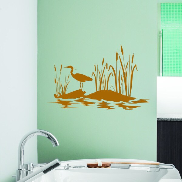 style apply pond wall decal overstock apply wall stickers removable wall stickers wall
