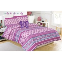 Shop Emmalynn Flower and Butterfly Comforter Set with ...