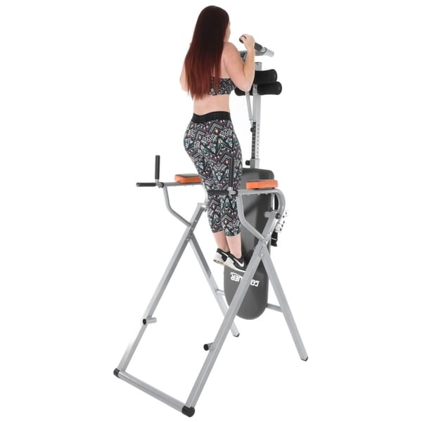 Shop Conquer 6 In 1 Inversion Table Power Tower On Sale