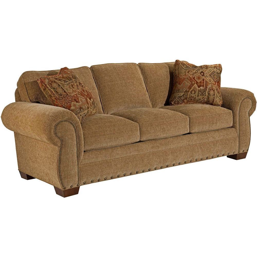 Broyhill Brown Corduroy Sofa Broyhill Cambridge Sofa
