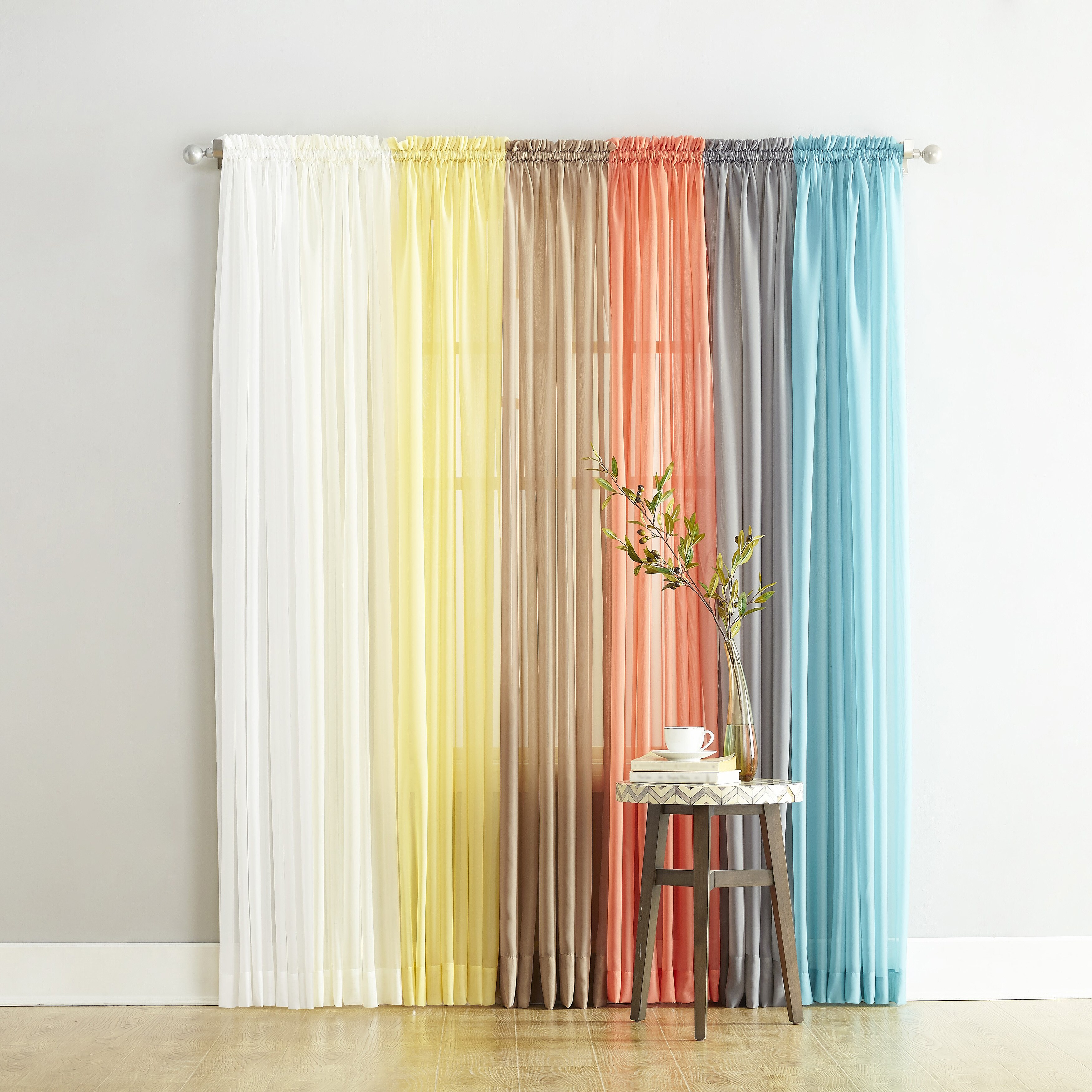 105 Inch Curtains Buy 108 Inches Sheer Curtains Online At Overstock Our Best