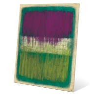 Shop 'Purple And Yellow Transitions' Wall Art on Metal ...