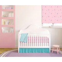 Shop American Baby Company Chevron Pink/Teal 4-Piece Baby ...